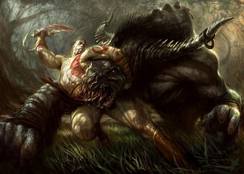 Kratos (God of War / Soul Calibur / Mortal Kombat)