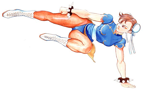 Street Fighter 2 Official Character Art Gallery