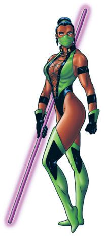 Kitana Mk2 Jade (Mortal Kombat)