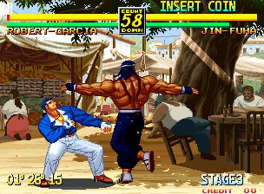 Art Of Fighting 3 Snk Neogeo