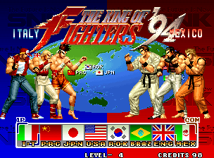The King Of Fighters 94 Tfg Review Art Gallery