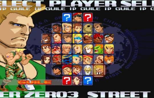 Street Fighter Alpha 3 Street Fighter Zero 3 Tfg Review Art