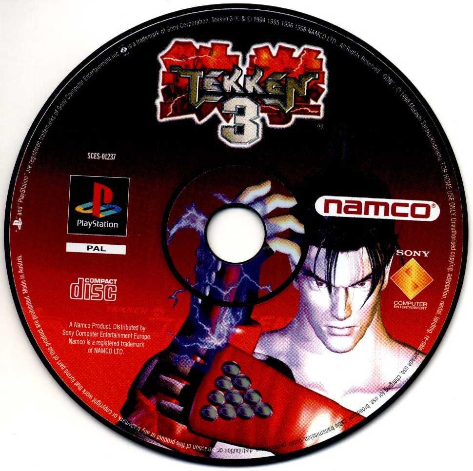 Tekken 3 Poster Art Box Art Etc