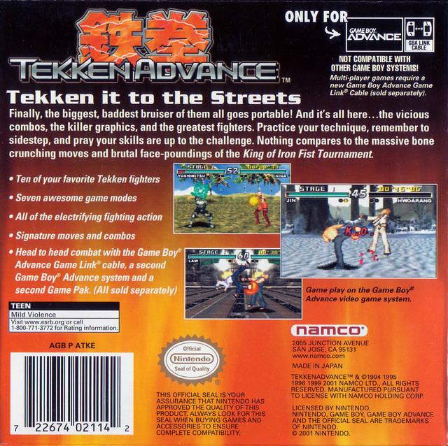 Tekken Advance - TFG Review