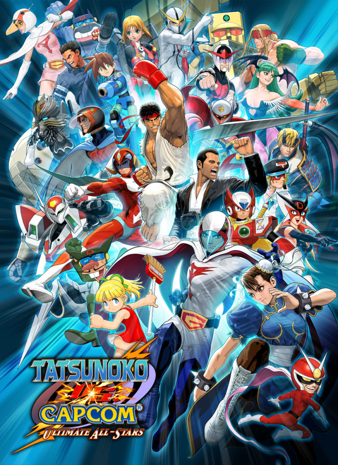 Tatsunoko Vs Capcom Ultimate All Stars Tfg Review Art