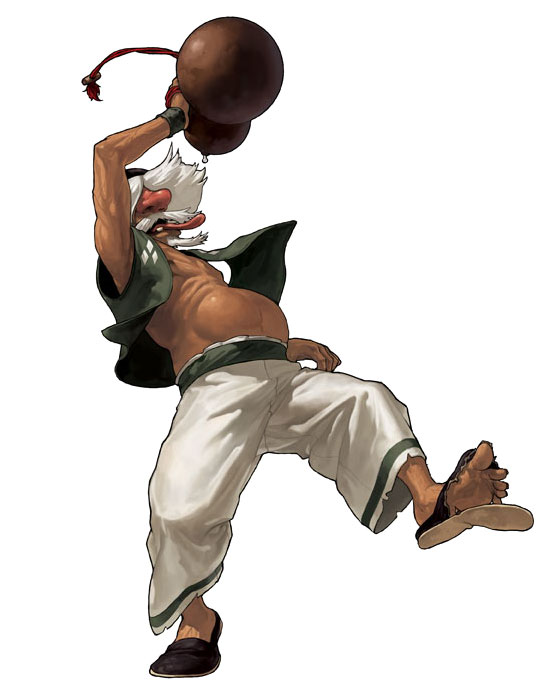 Chin Gentsai (The King of Fighters)