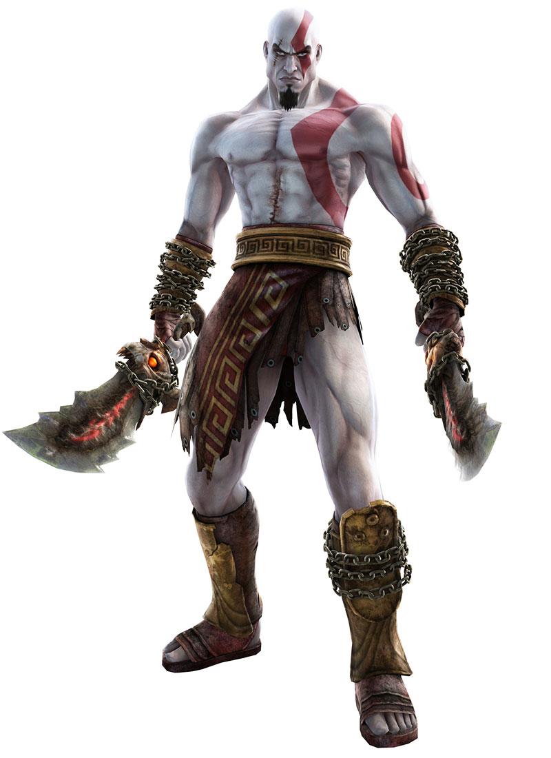 Kratos Soul Calibur Mortal Kombat
