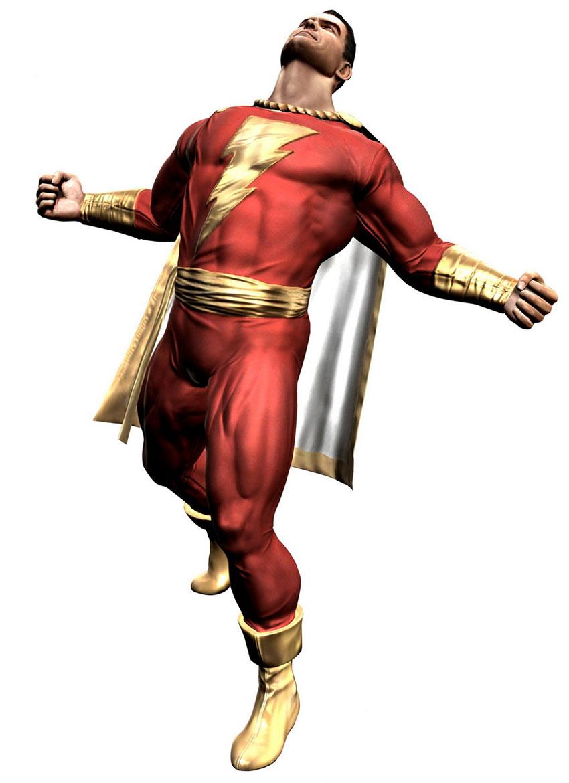 Shazam Captain Marvel DC Injustice