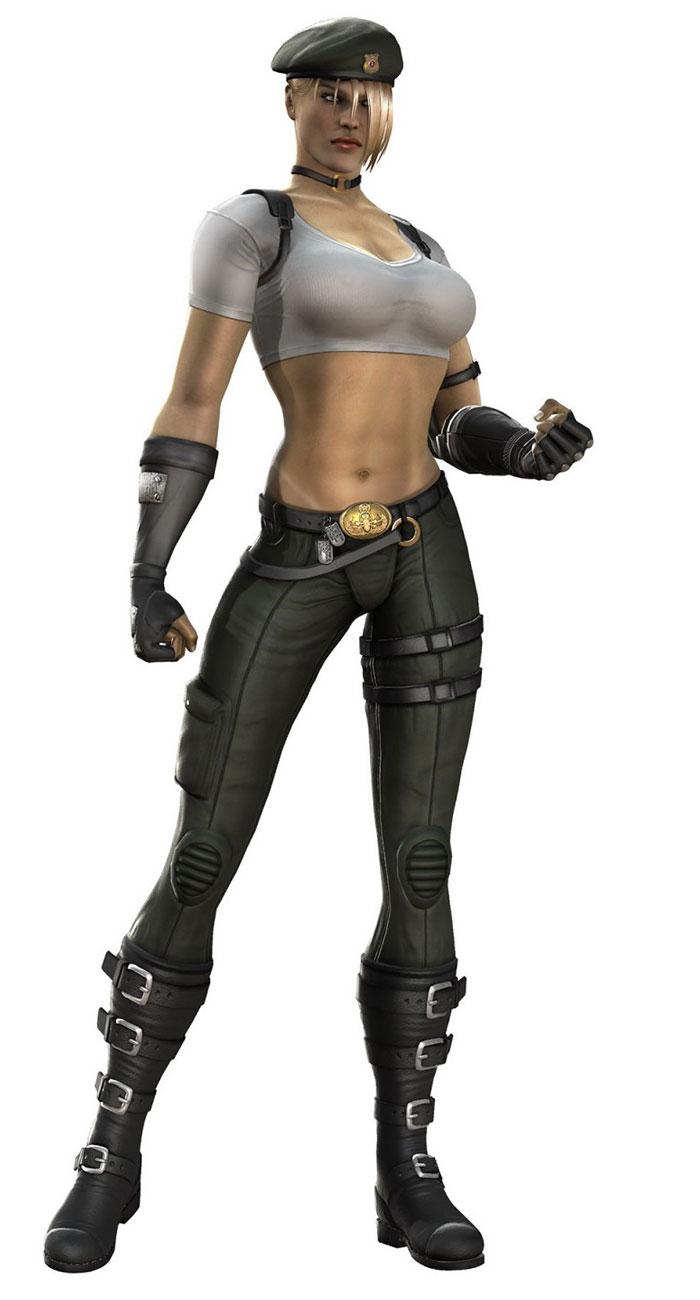 Mortal Kombat VS DC Universe - Character Renders