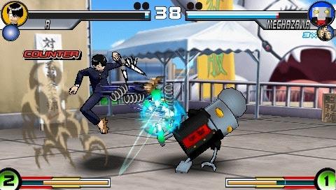 Sunday X Magazine Shuuketsu Choujou Daikessen PSP Fighting Game