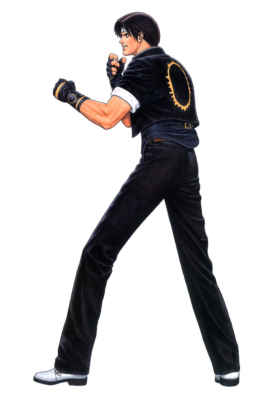 King Of Coins Pentacles As Advice: Kyo Kusanagi (King Of Fighters