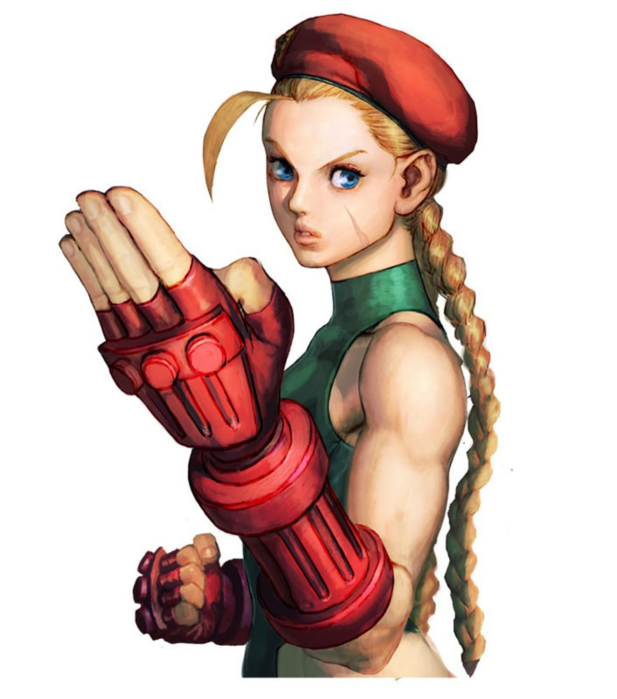 cami street fighter naked
