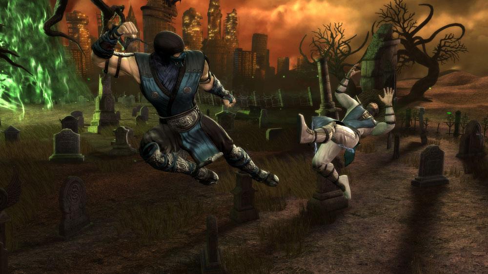Mortal Kombat 9 - TFG Review / Artwork Gallery