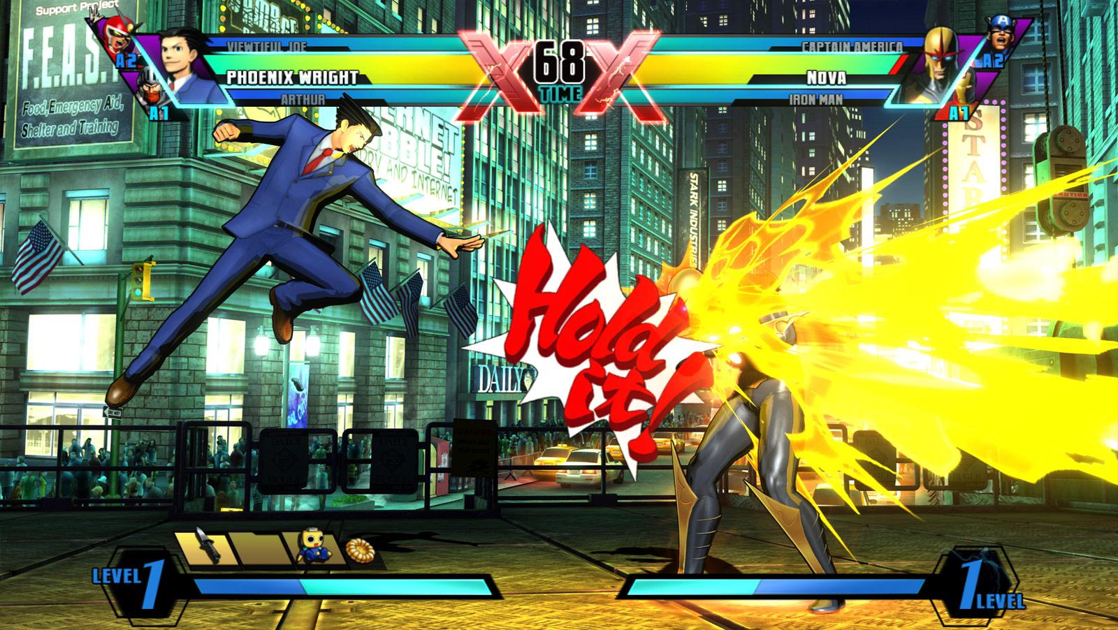 Ultimate Marvel VS Capcom 3 - TFG Review / Artwork Gallery