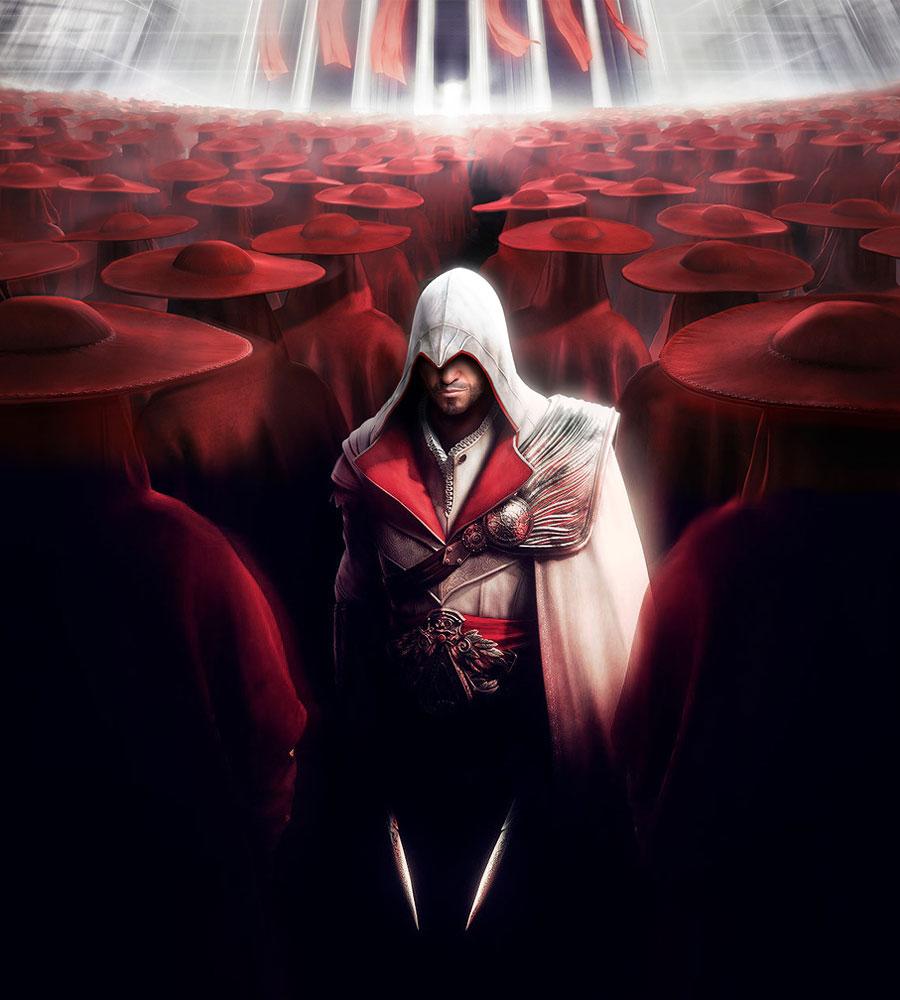 Ezio Auditore da Firenze (Soul Calibur 5)