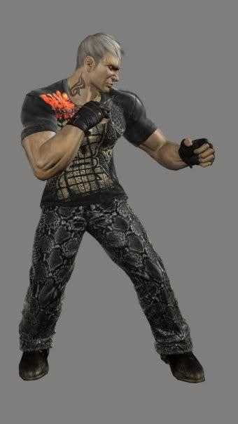 New Street Fighter >> Bryan Fury (Tekken)