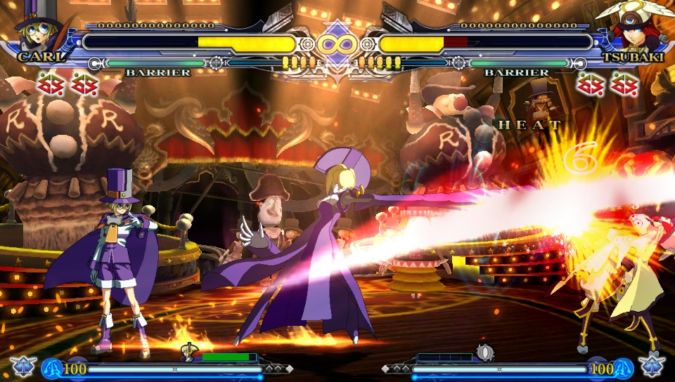 BlazBlue: Continuum Shift Extend - TFG Review / Art Gallery