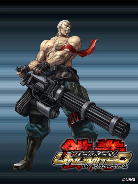 Bryan Fury Tekken