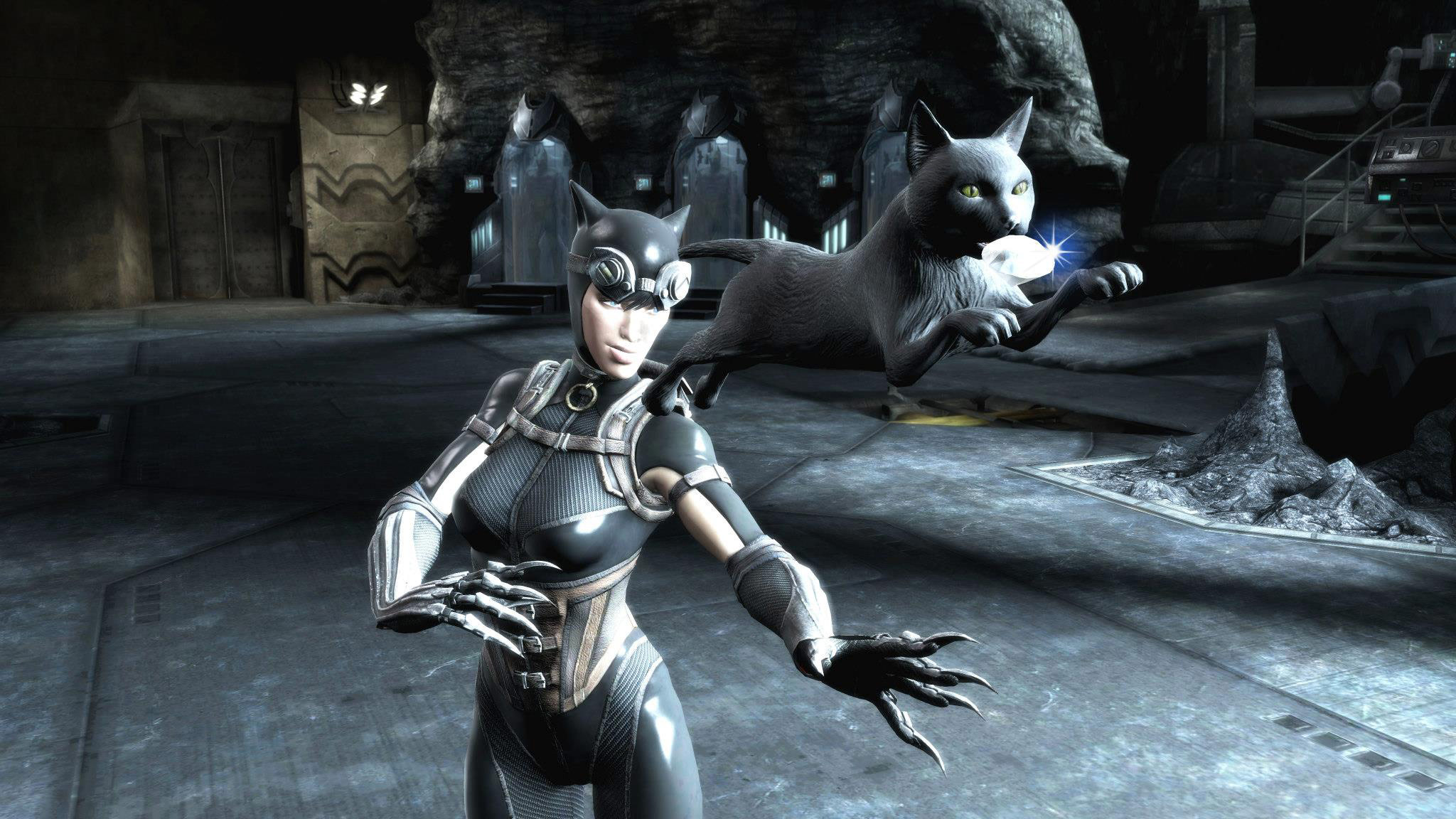 injustice gods among us catwoman screenshots. Black Bedroom Furniture Sets. Home Design Ideas