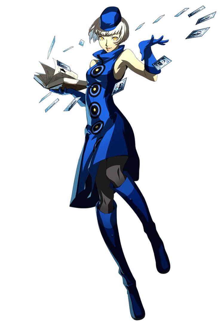 Persona 4 Anime Characters : Persona arena character artwork