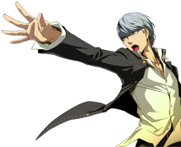 Persona 4 Anime Characters : Yu narukami persona arena