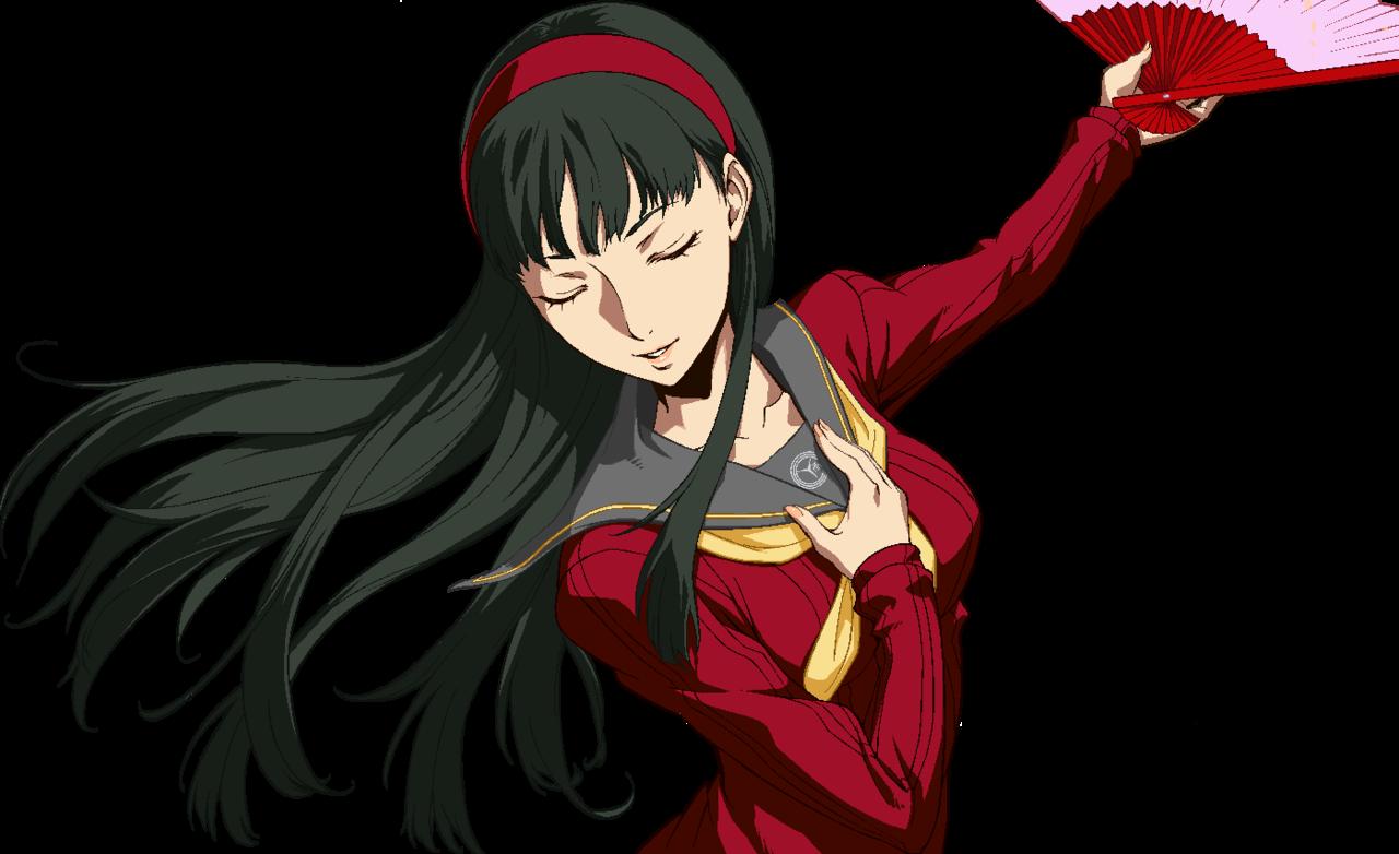 Yukiko Amagi (Persona ...Persona 4 Arena Yukiko Amagi