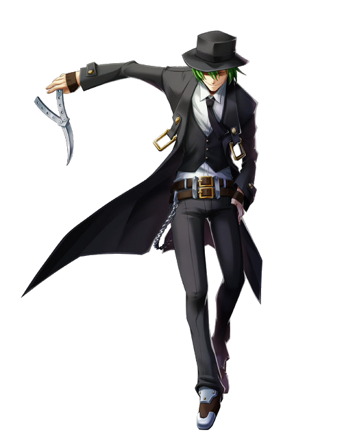 BlazBlue: Chrono Phantasma - Official Character Art