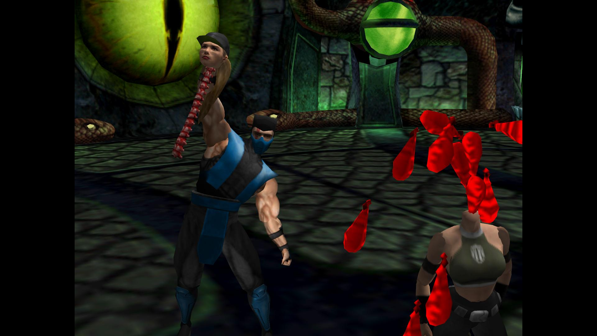 Mortal Kombat Gold (Dr...