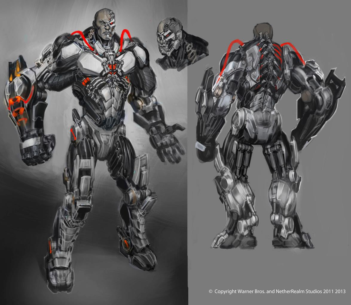 Injustice: Gods Among Us - Concept Art