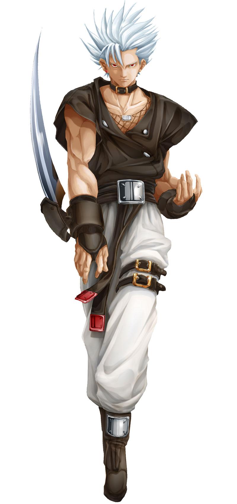 Guilty Gear XX Slash - Character Art