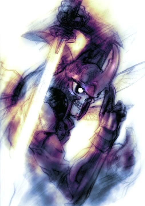 Yoshimitsu Character Design : Yoshimitsu tekken soul calibur