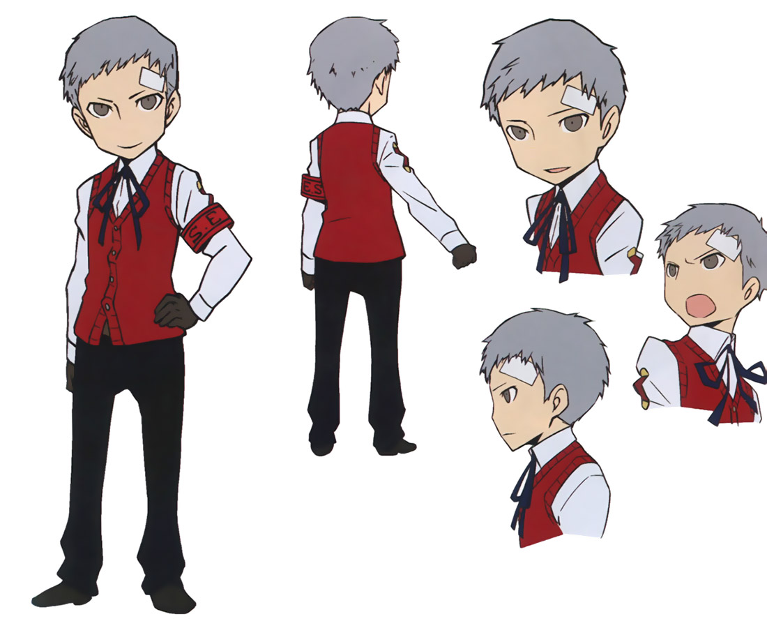 Persona 3 characters name