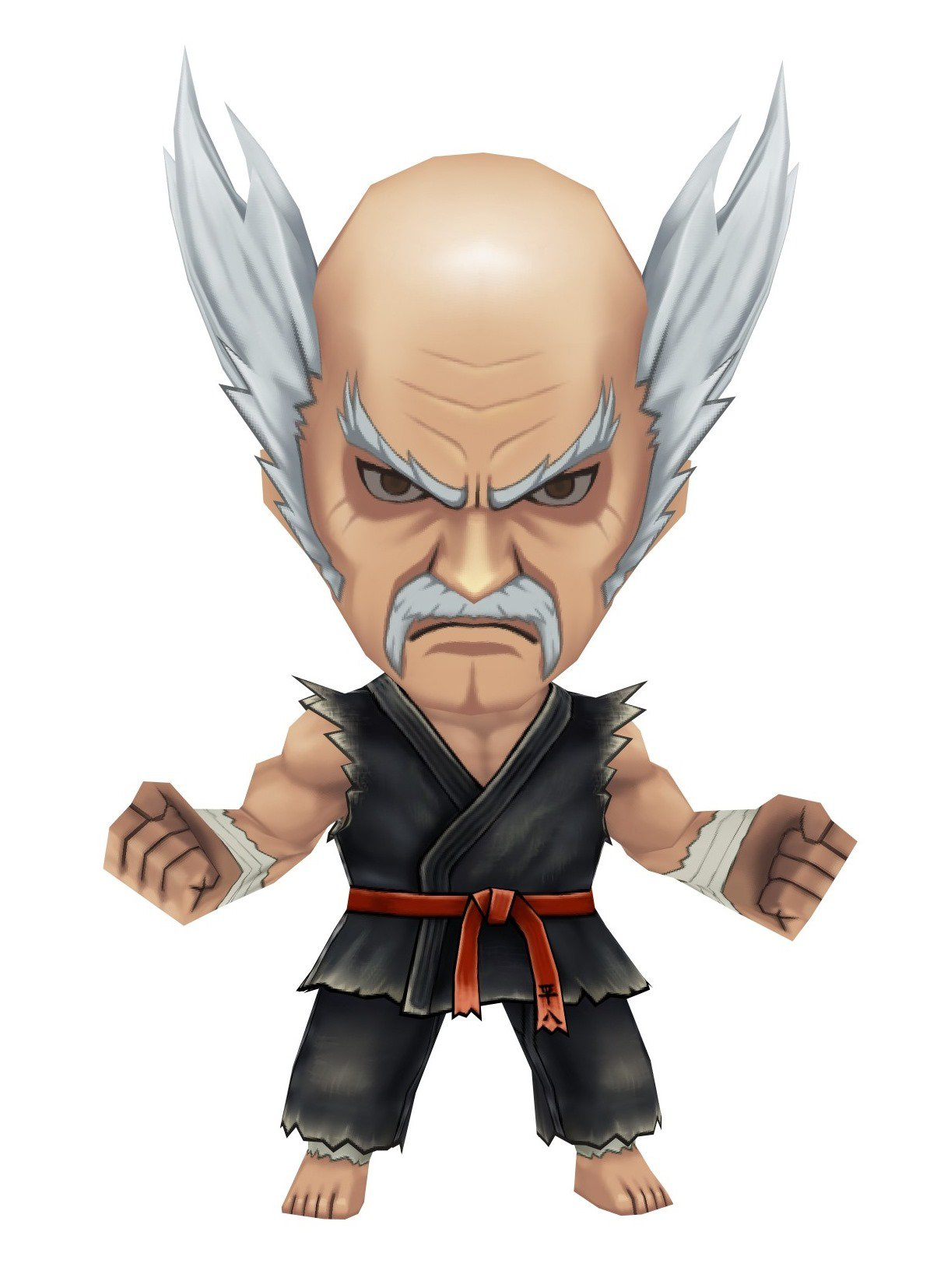 The Characters Of The Cups: Heihachi Mishima
