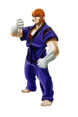Allen Snider Street Fighter Ex Fighting Layer