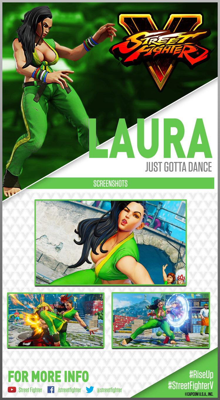 Laura Matsuda (Street Fighter V)