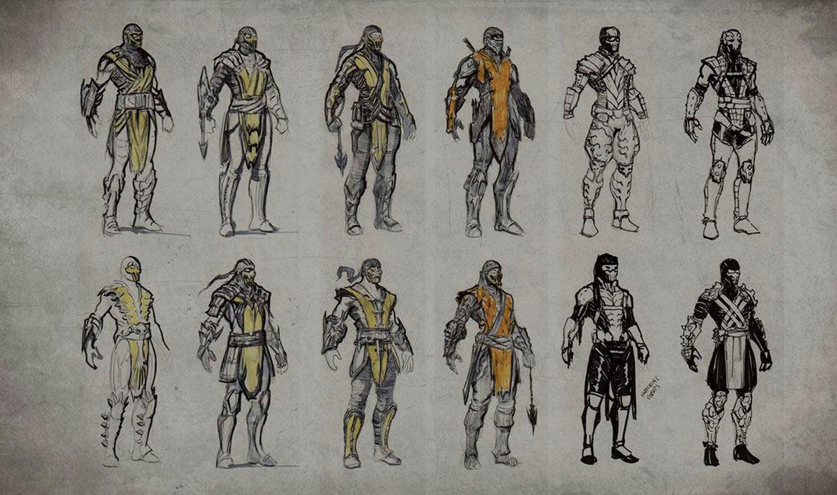 Scorpion Mortal Kombat