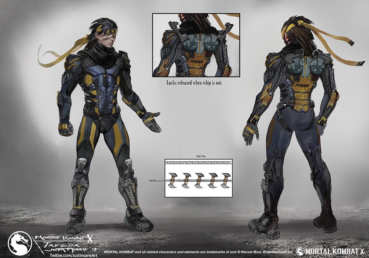 Takeda Takahashi Mortal Kombat X & Jax Mortal Kombat Halloween Costume - Meningrey