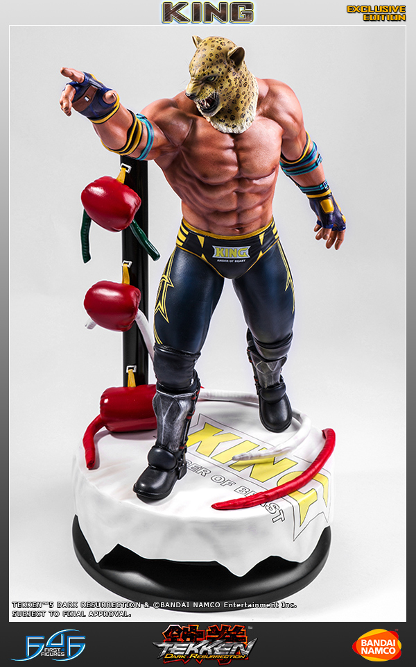 First 4 Figures Tekken 5 King 1 4 Statue Preview Pre Orders Now Live