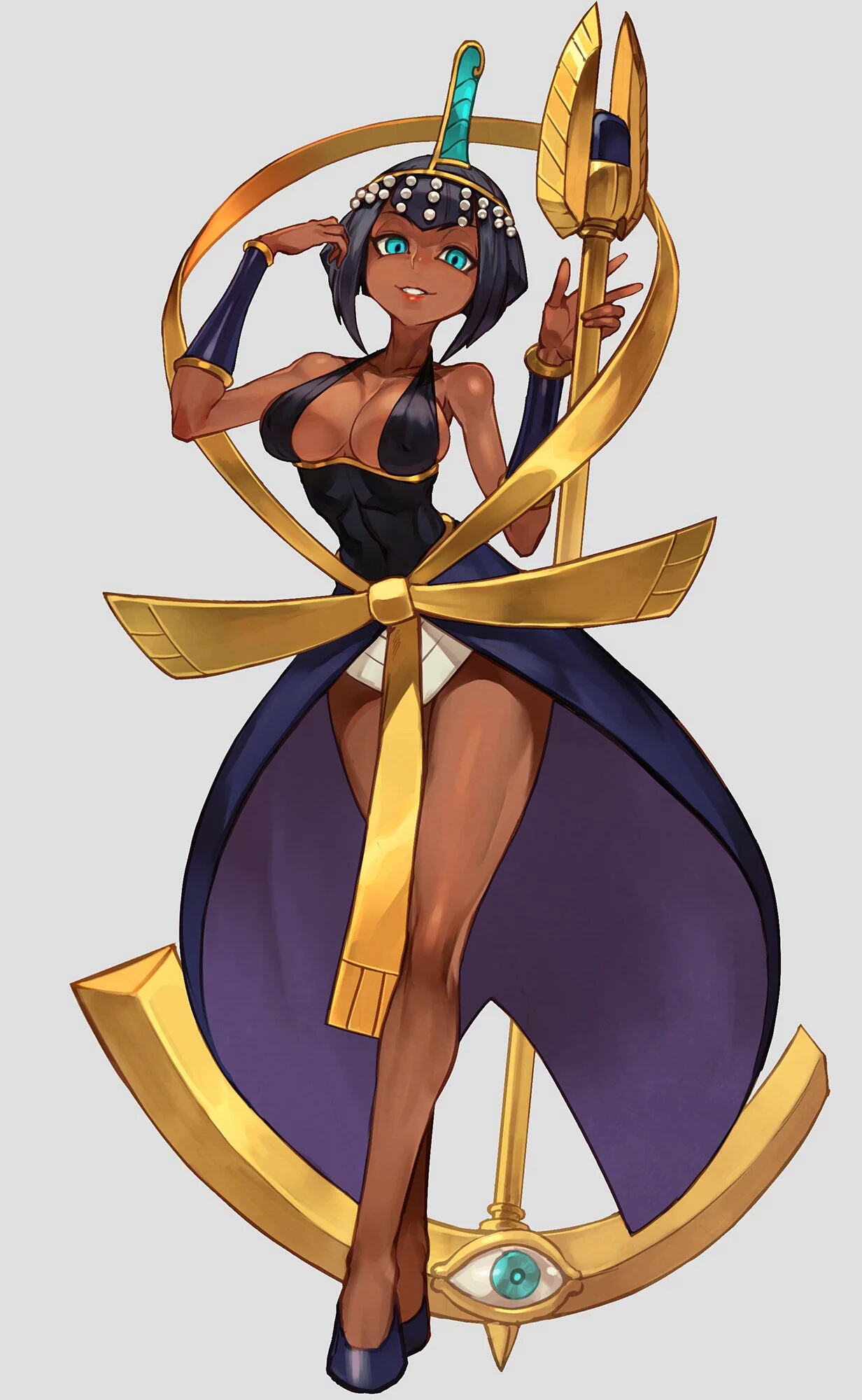 Saiya, The Half -Jinn [APPROVED; 1-5-] [hazard rating C] Eliza-skullgirls-cool-artwork