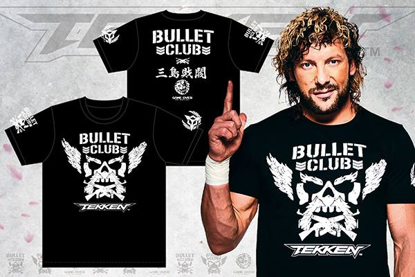 Tekken 7 New Japan Pro Wrestling Collaboration T Shirts Now Available In North America