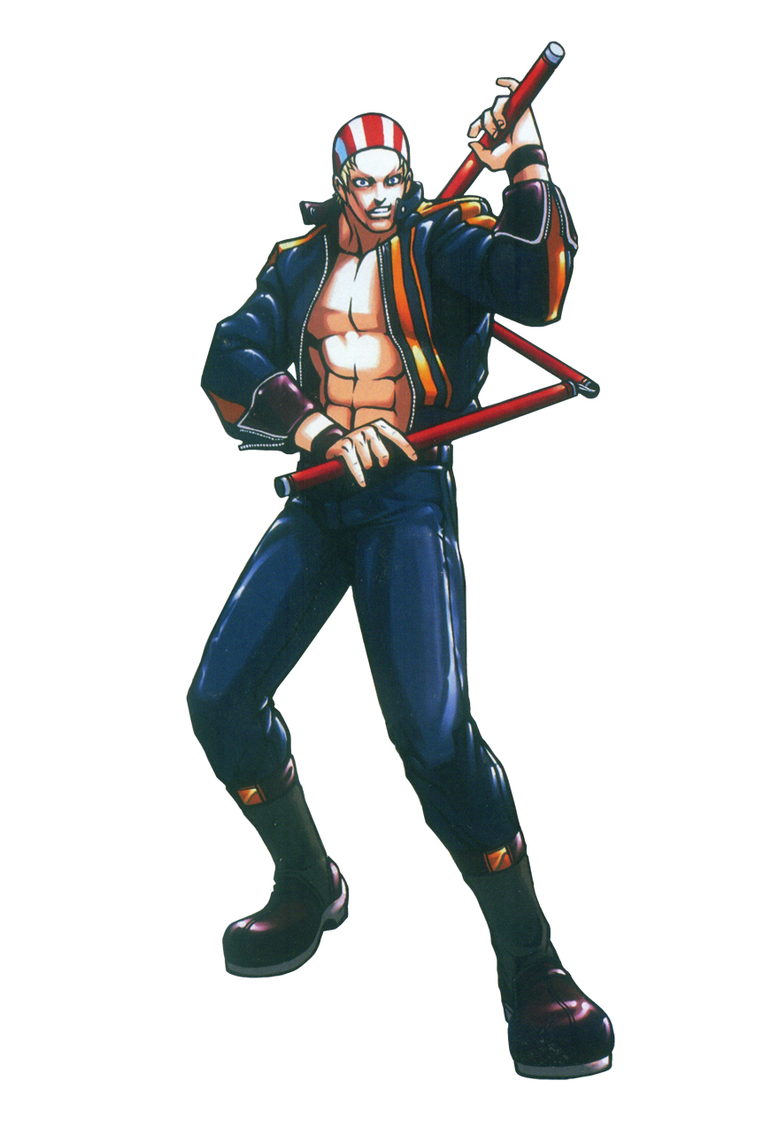 Fatal Fury Wild Ambition Character Art