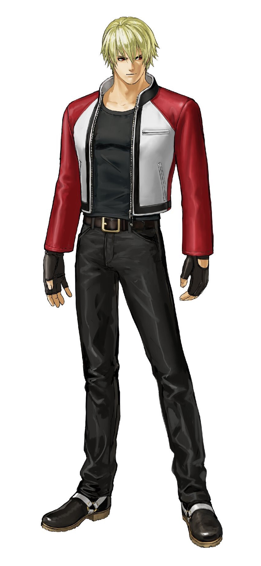 Character Design King Of Fighters : Rock howard garou mark of the wolves
