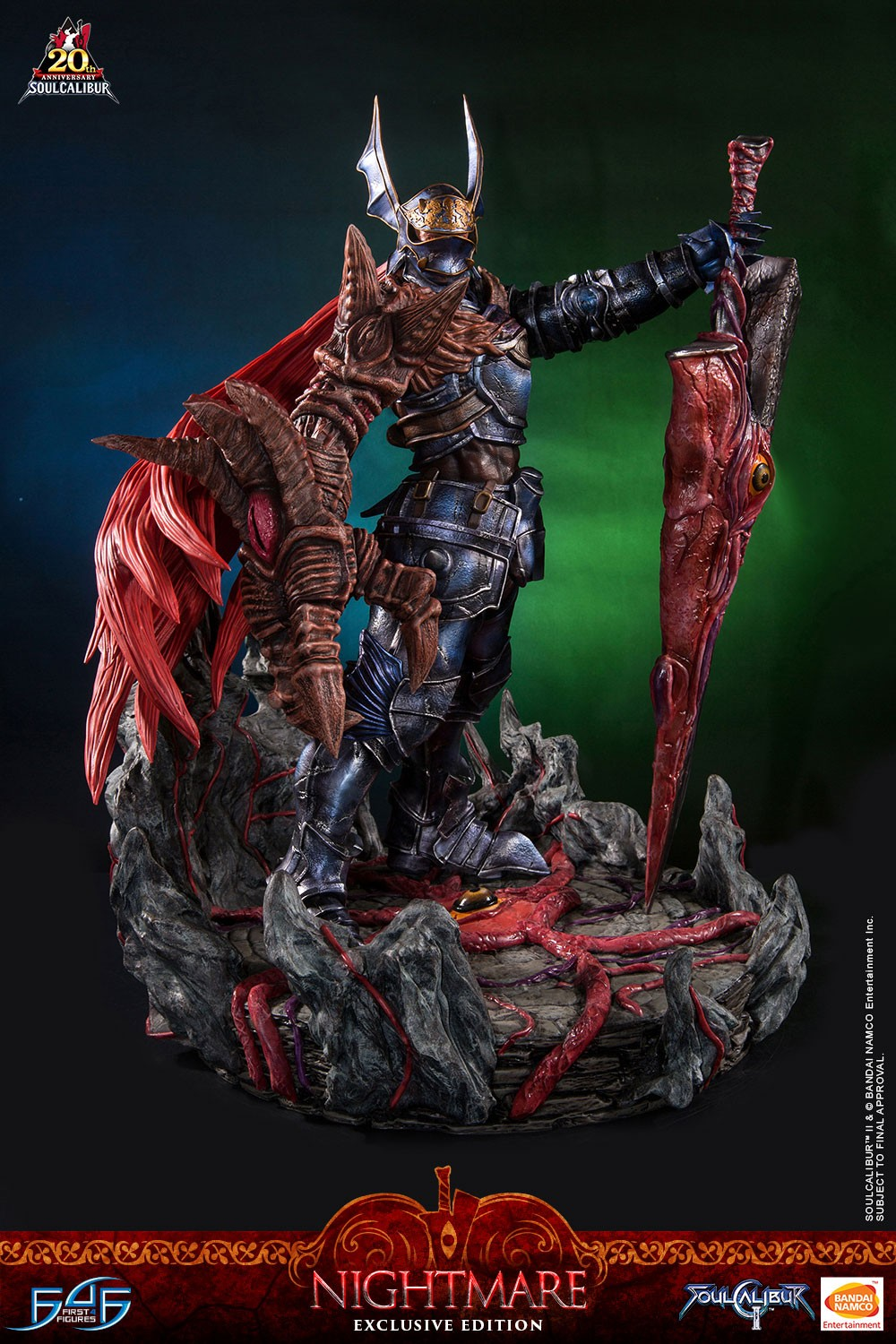 Preview Of Soul Calibur 2 Nightmare Statue By First 4 Figures