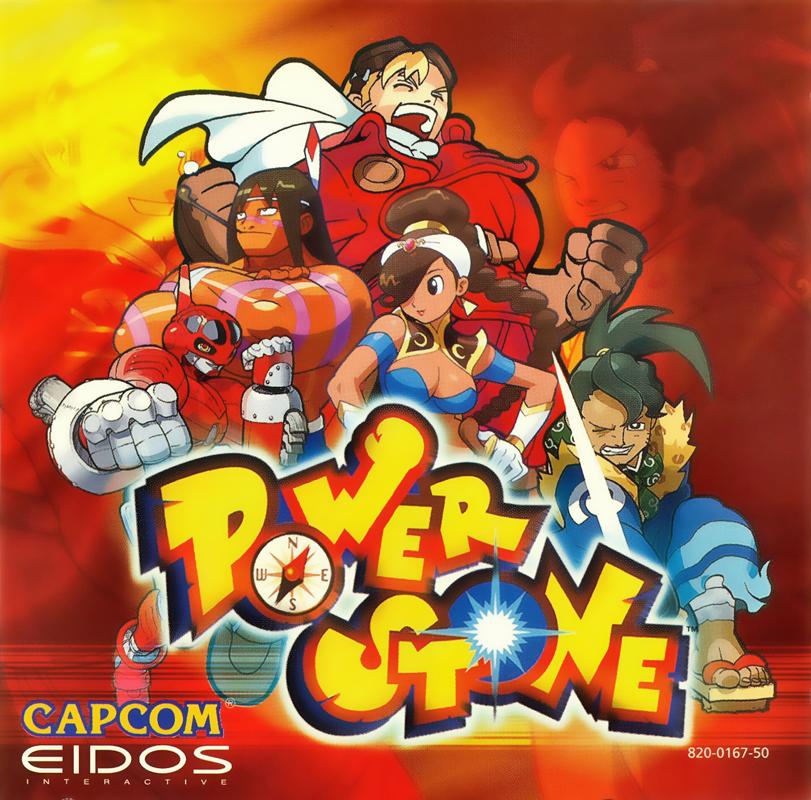 Power Stone - Poster Artwork / Box Art / Etc